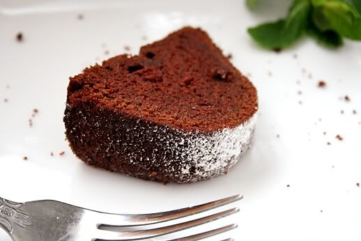Chickpea Chocolate Cake With Cocoa Powder